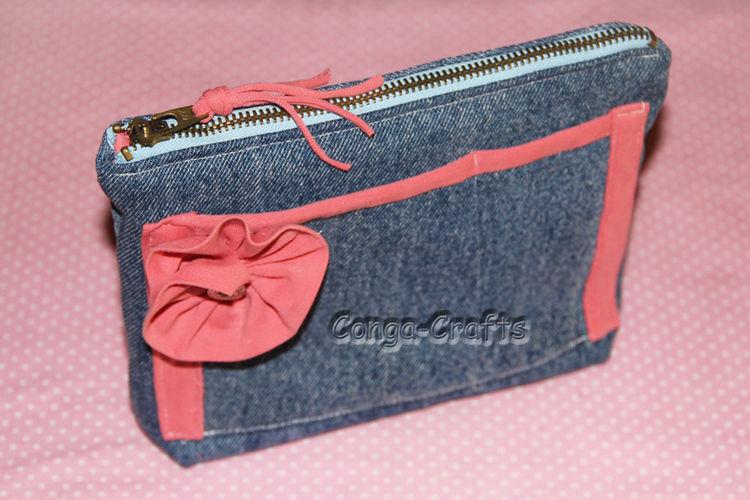 Makerist - Tasche Jeanny aus 98 % recyceltem Material - DIY-Projekte - 1