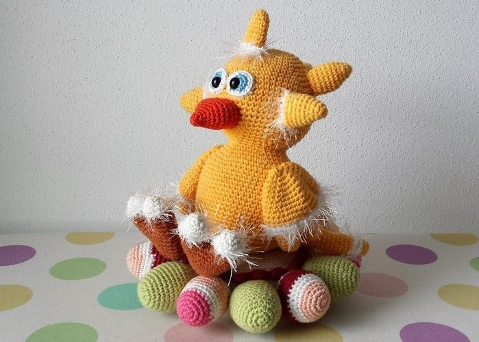 Makerist - Dotti das süße Osterhuhn - Häkelprojekte - 1