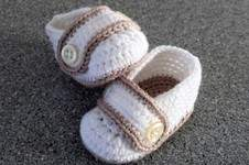 Makerist - Babyschuhe mit Riegel - 1