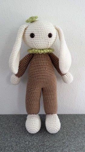 "Makerist - ""Hab mich lieb Puppe"" Nr. 1 - Häkelprojekte - 1"