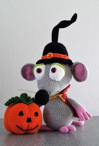 Makerist - Halloween-Maus - Häkelprojekte - 1