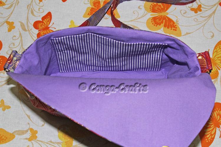 Makerist - DIY - Handtasche Hetty nähen - nach Schnitt vom vorhergehenden Video - Nähprojekte - 3