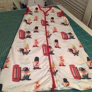 Makerist - Schlafsack für mein Enkelkind - 1