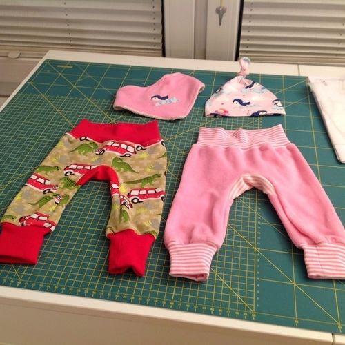 Makerist - Erstlingsausstattung für eine kleine Prinzessin und Resteverarbeitung! - Nähprojekte - 2