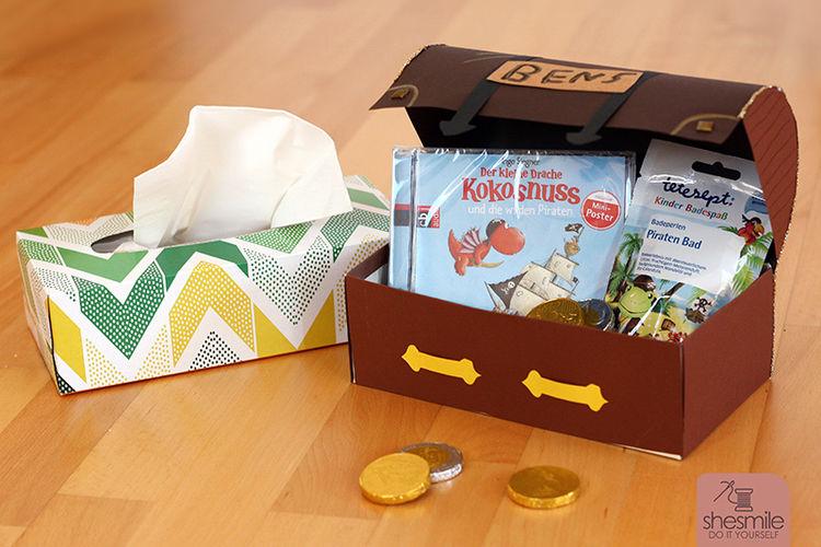 Makerist - Eine Piraten-Schatzkiste zum Kindergeburtstag - DIY-Projekte - 2
