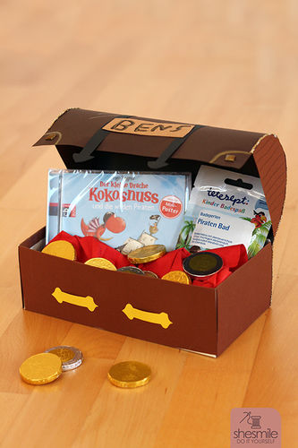 Makerist - Eine Piraten-Schatzkiste zum Kindergeburtstag - DIY-Projekte - 3