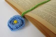 Makerist - Flower Bookmark - 1