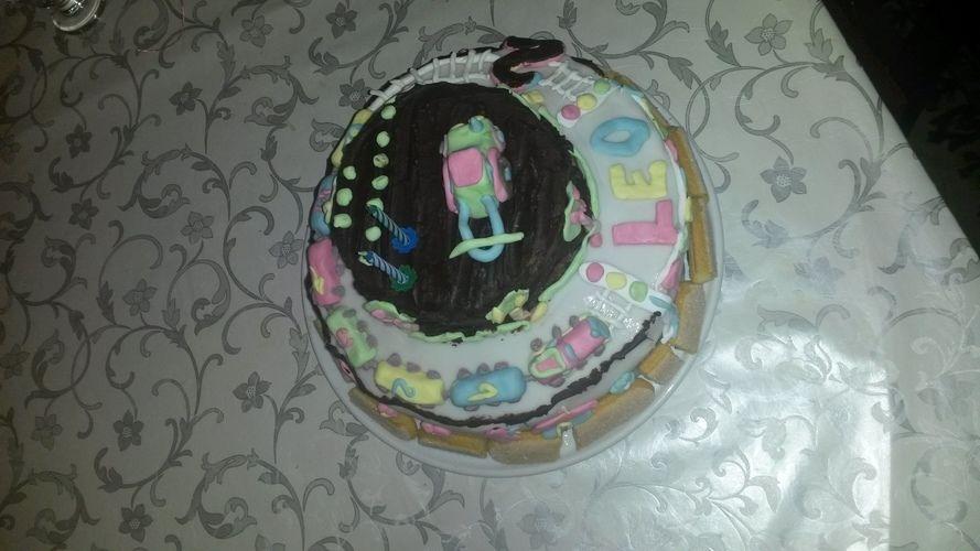 Makerist - Torte zum 2. Geburtstag  - Torten, Cake Pops und Cupcakes - 1