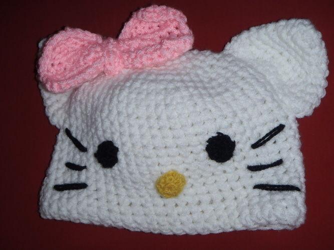 Makerist - Hello Kitty Mütze für meine Tochter - Häkelprojekte - 1