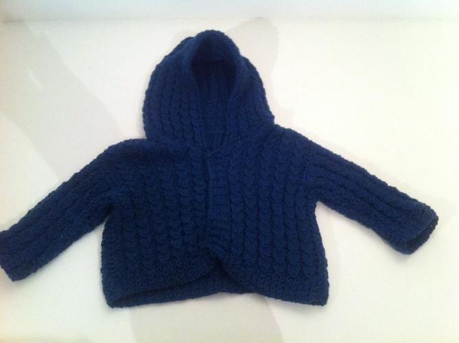 Makerist - Jacke für den Style-Fratz - Strickprojekte - 1