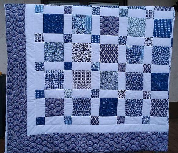 Makerist - Bett-/Tagesdecke - Patchwork-Projekte - 2