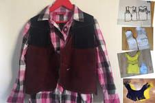 Makerist - aus einem Shirt-Schnitt eine Weste machen - 1