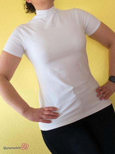 Makerist - sehr figurbetontes Shirt als Drunterzieh-Shirt - Nähprojekte - 2