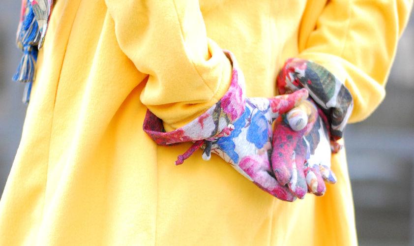 """Makerist - Fingerhandschuhe """"Schneehase"""" aus French Terry - Nähprojekte - 3"""