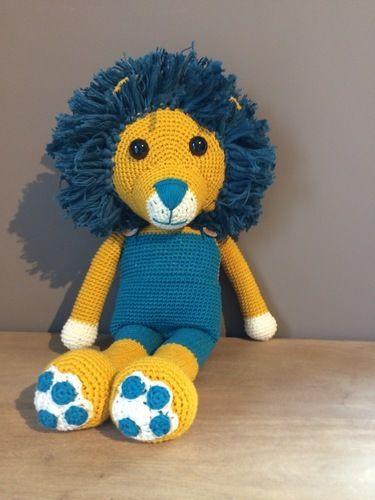 Makerist - Doudou lion crochet  - Créations de crochet - 1