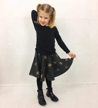 Makerist - Eine Flor als Tellerrock für meine Jüngste  - 1