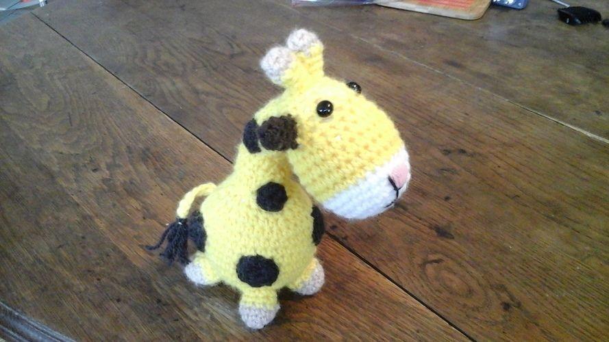 Makerist - Olaf la Gigi tricotée au crochet pour mon petit fils Aymeric  - Créations de crochet - 1