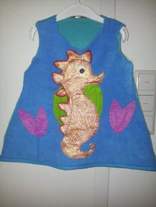 Makerist - ♥Seepferdchen Kostüm für die ganz Kleinen♥ - 1