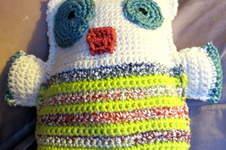 Makerist - doudou en forme de monstre au crochet - 1