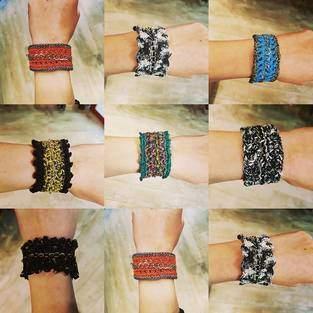 Makerist - Bracelet au crochet sur chainette - 1