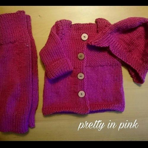 Makerist - pretty in pink - Strickprojekte - 1