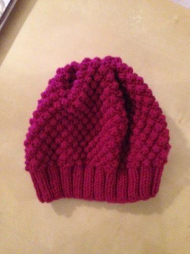 Makerist - Bonnet tricoté en laine phildar Phil harmony - Créations de tricot - 1
