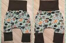 Makerist - Eine niedliche kleine Hose aus Jersey mit Waldtieren - 1