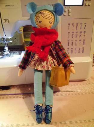 Makerist - Mademoiselle fait du shopping - 1