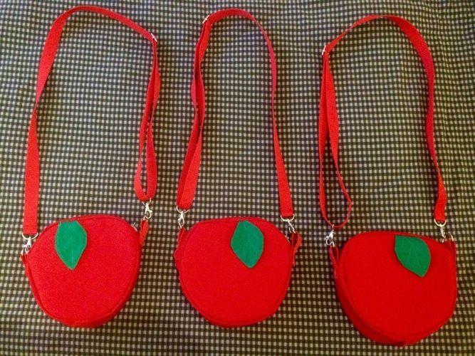 Makerist - Schneewittchens Apfeltasche - Handtasche passend zum Karnevalskostüm - Nähprojekte - 1