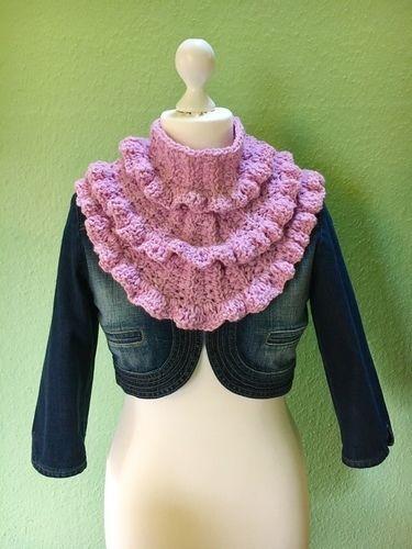 Makerist - Frühlingsschal TULIPA von crochetmama - Häkelprojekte - 1