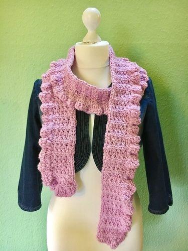 Makerist - Frühlingsschal TULIPA von crochetmama - Häkelprojekte - 2