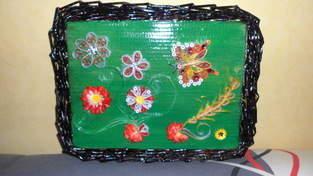 Makerist - Vannerie Papillon et Libellule (papier journal & quilling) - 1