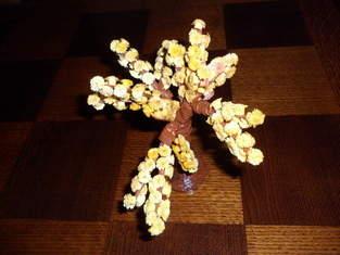 Makerist - Vannerie Mimosa et Cerisier (papier journal et quilling) - 1