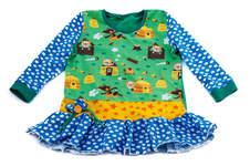 Makerist - Herbstkombi-Kleid mit Schweinchen  - 1