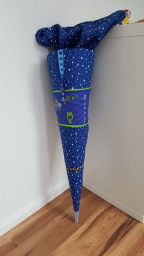 Makerist - Weltall Schultüte mit Raketen - Nähprojekte - 3