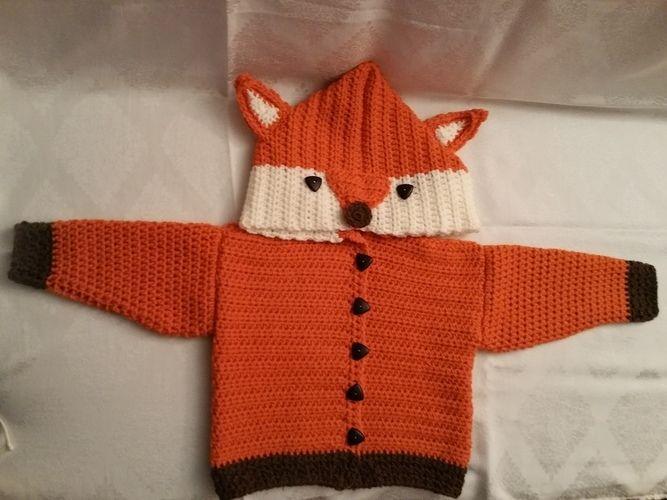 Makerist - Fuchsjacke für meine Enkelin - Häkelprojekte - 1