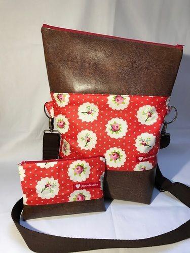 Makerist - Foldover Tasche von Hansedelli mit passendem Kosmetiktäschchen - Nähprojekte - 1