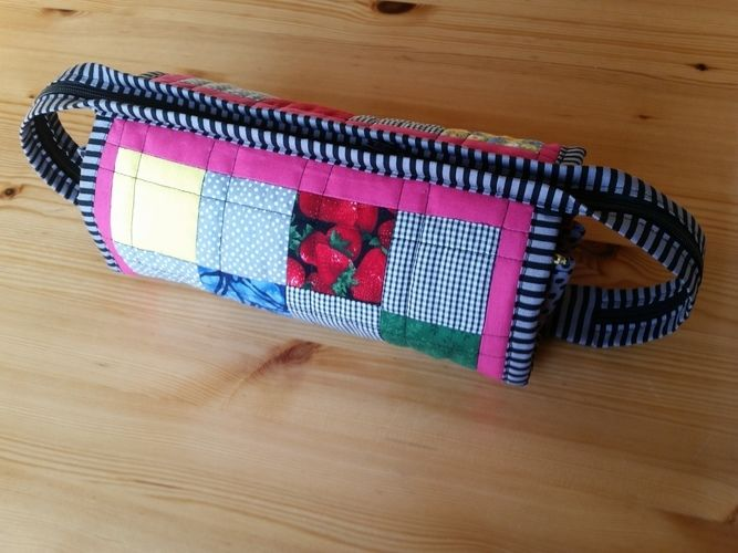 Makerist - Fächertasche aus Restenstoff - Nähprojekte - 1