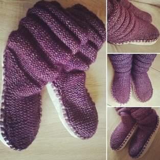 Makerist - Tricot Chaussons-chaussettes Femme - 1