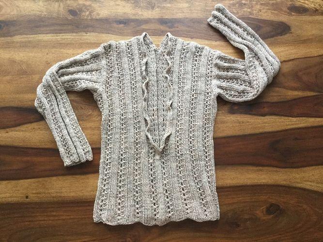 Makerist - Pullover mit V Ausschnitt - Strickprojekte - 1