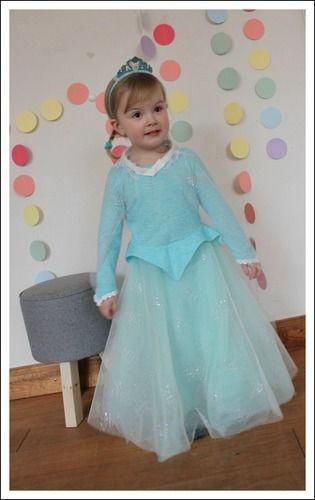 Makerist - Elsa Kostüm für kleine Mädels - Nähprojekte - 1