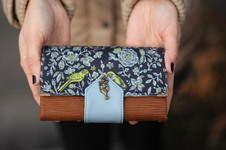 Makerist - Geldbörse Little Ruby mit coolem Druckknopf :-) - 1