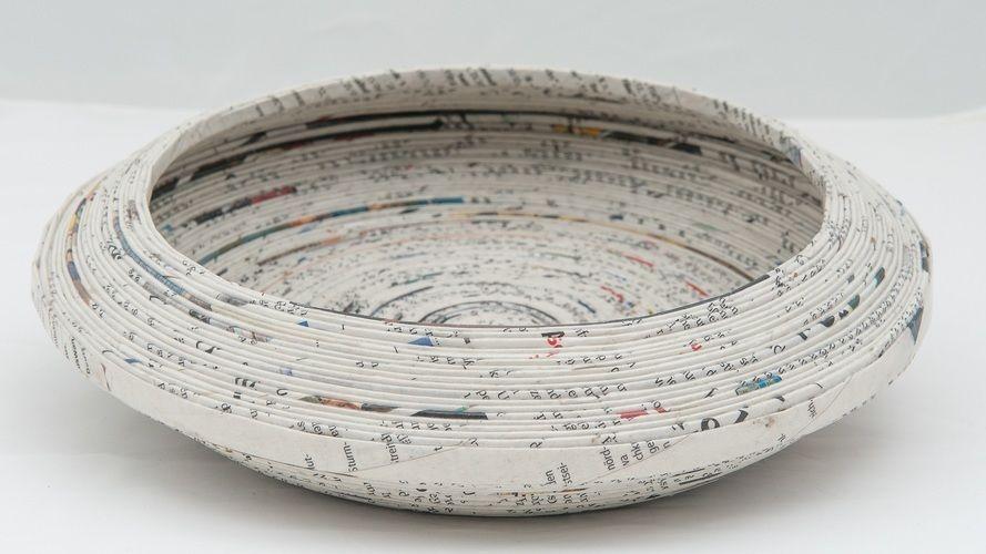 Makerist - Schale aus Zeitungspapier - DIY-Projekte - 1
