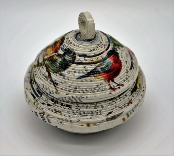 "Makerist - ""Frühling"" Deckeldose - DIY-Projekte - 1"