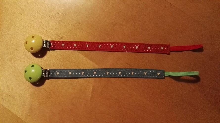 Makerist - Schnullerketten Variation mit Holzclips - Nähprojekte - 3