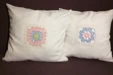 Makerist - Kissenhüllen mit Grannys  - 1