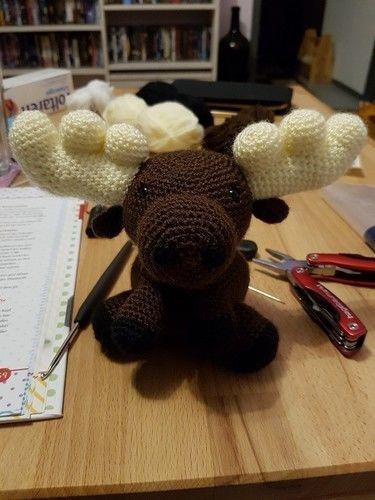 Makerist - Pinguin, Elch & Panda - Häkelprojekte - 2