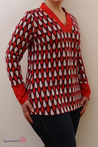 Makerist - Shirt mit V-Ausschnit von Lillesol - Nähprojekte - 2