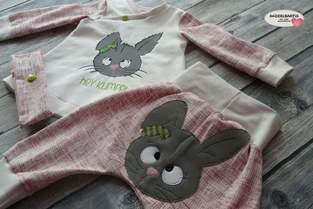 Makerist - Baby Set zu Ostern mit dem süssen Hasen von Emmapünktchen - 1