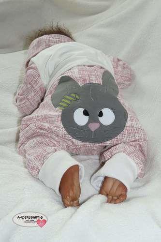 Makerist - Baby Set zu Ostern mit dem süssen Hasen von Emmapünktchen - Nähprojekte - 3
